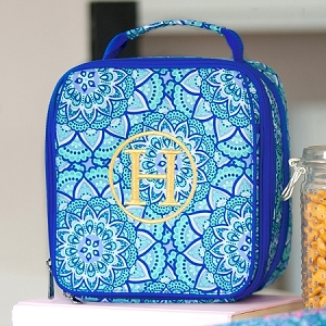 WB Monogrammed Lunch Bag - Day Dream