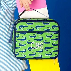 Monogrammed Lunch Bag - Later Gator