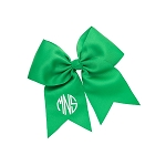 Monogrammed Bow  - Green