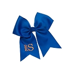 Monogrammed Bow  - Royal