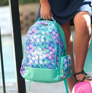 Monogrammed Backpack - Mermazing