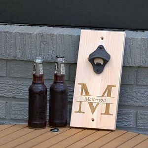 Beer Bottle Opener - Maple