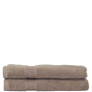 Luxury Cotton Bath Mats (set of 2) Taupe