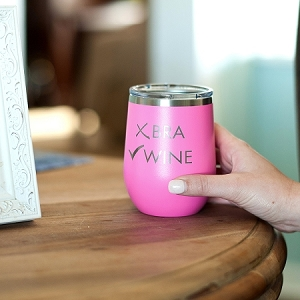 Insulated Wine Tumbler - Wine, Check