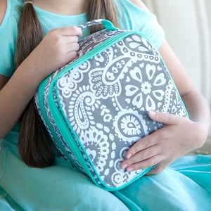 WB Monogrammed Lunch Bag - Parker Paisley