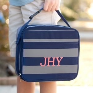 Monogrammed Lunch Bag - Greyson
