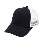 Monogrammed Trucker Hat - Black