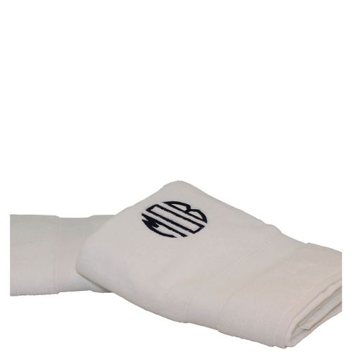 Luxury Cotton Bath Towels (Set of 2) White