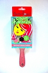 Monogrammed Scented Paddle Brush - Wicked Watermelon