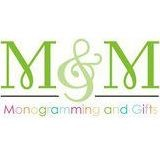 Standard Size Monogram Gift Certificate