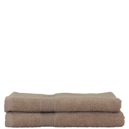 Luxury Cotton Hand Towels (Set of 2) Taupe