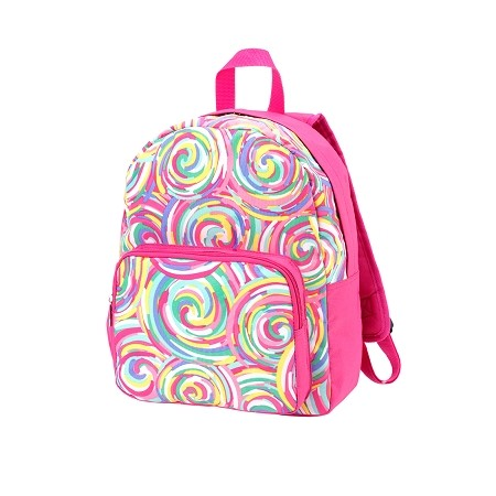 WB Monogrammed PRESCHOOL Backpack - Summer Sorbet