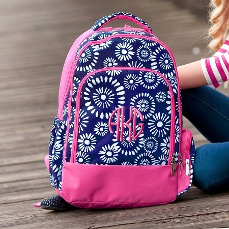 Monogrammed Backpack - Riley