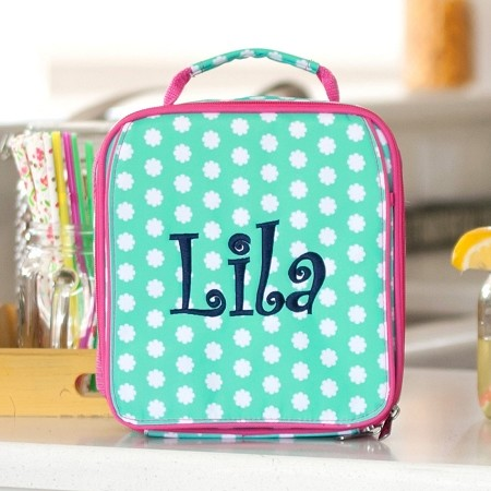 WB Monogrammed Lunch Bag - Hadley Bloom
