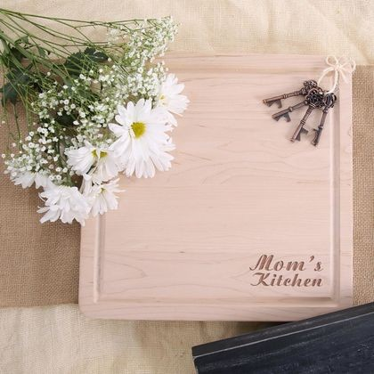 Maple Cutting Board - Mom's Kitchen