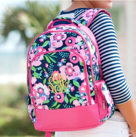 Monogrammed Backpack - Posie