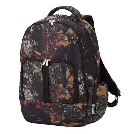 Monogrammed Backpack - Woods Camo