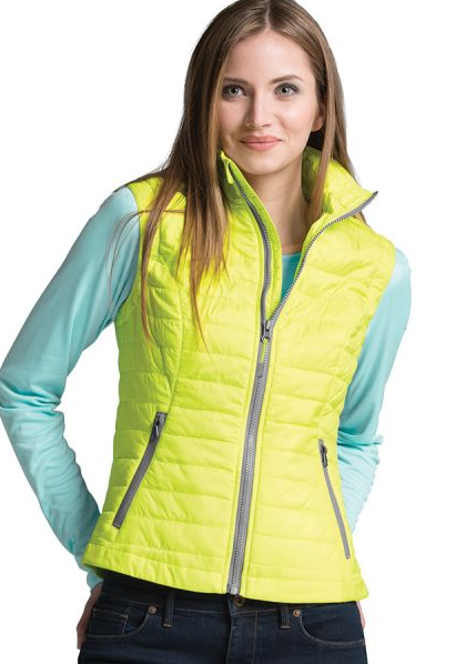 Monogrammed Quilted Vest - 5 Colors Available
