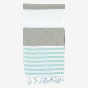 Turkish Towel - Beige Mint