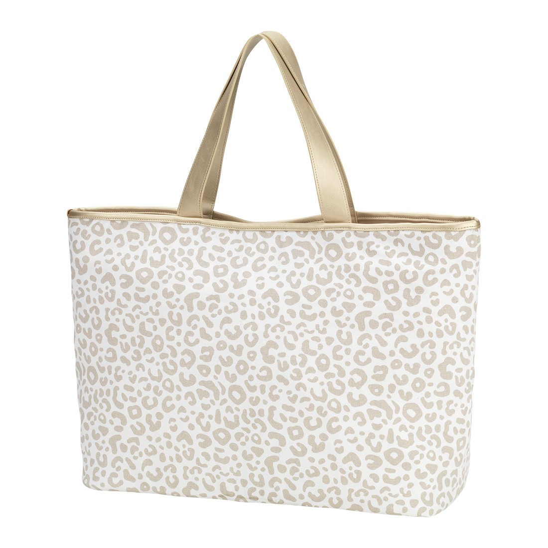 Ally Tote - Natural Leopard