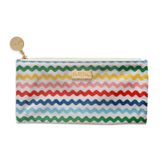 Monogrammed Brush Pouch - Making Waves