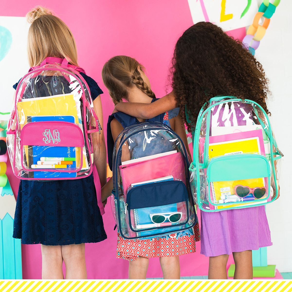 Clear Bags and Backpacks