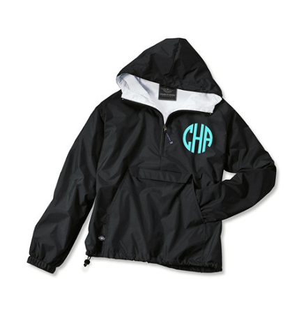 Monogrammed Anorak - 10 Colors Available