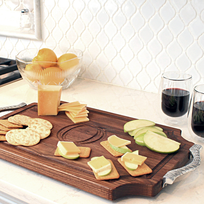 Walnut Cheese Board - The Cheese Wrangler