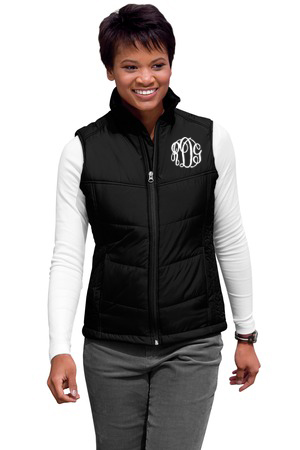 Monogrammed Puffer Vest - 5 Colors Available