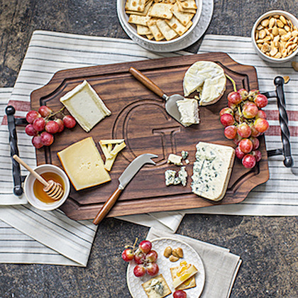 Walnut Cheese Board - The Big Cheese