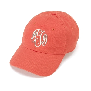 Traditional Monogrammed baseball cap, 12 Colors Available
