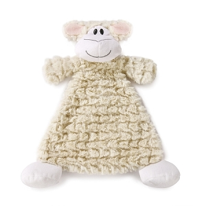 Monogrammed Rattle Blankie - Langley Lamb