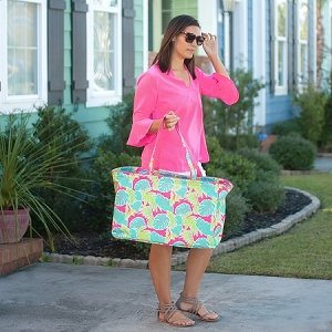 Monogrammed Ultimate Tote - Totally Tropics