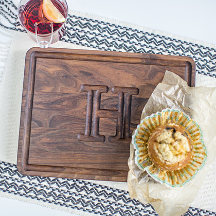 Walnut Cutting Board - The Muffin Man
