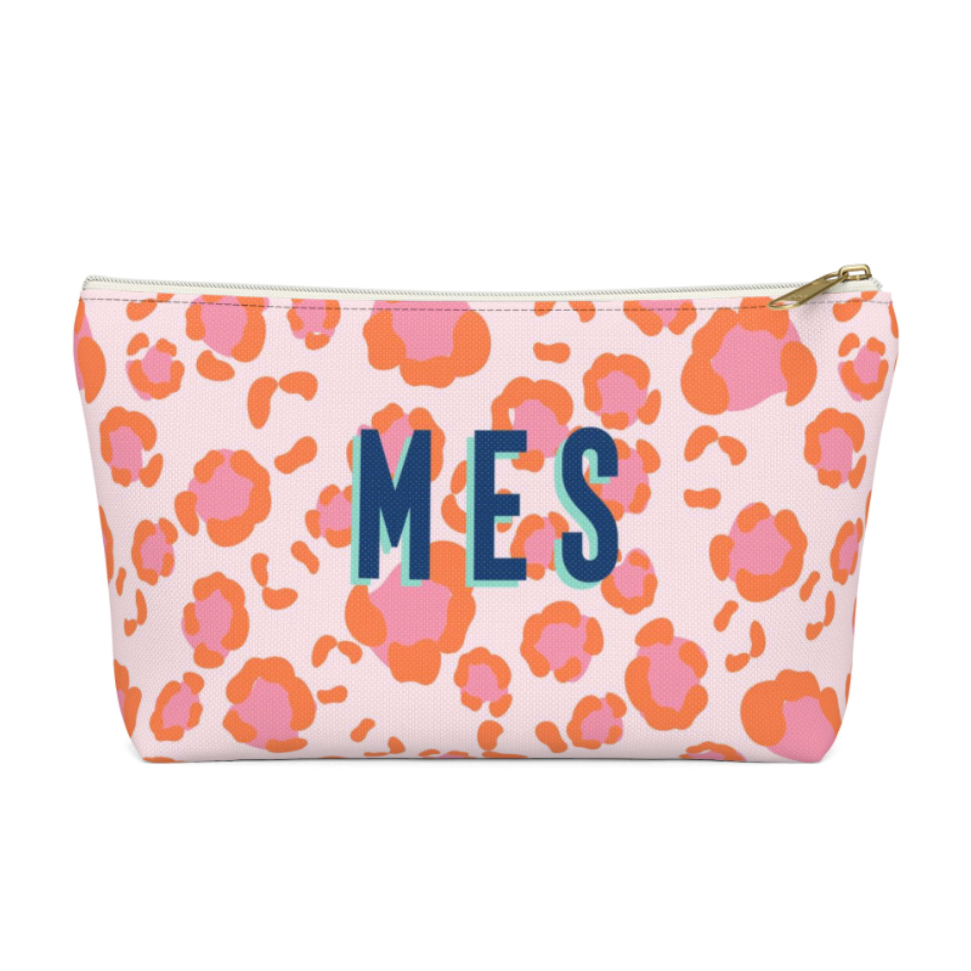 Leopard Spots Zip Pouch (More options available)