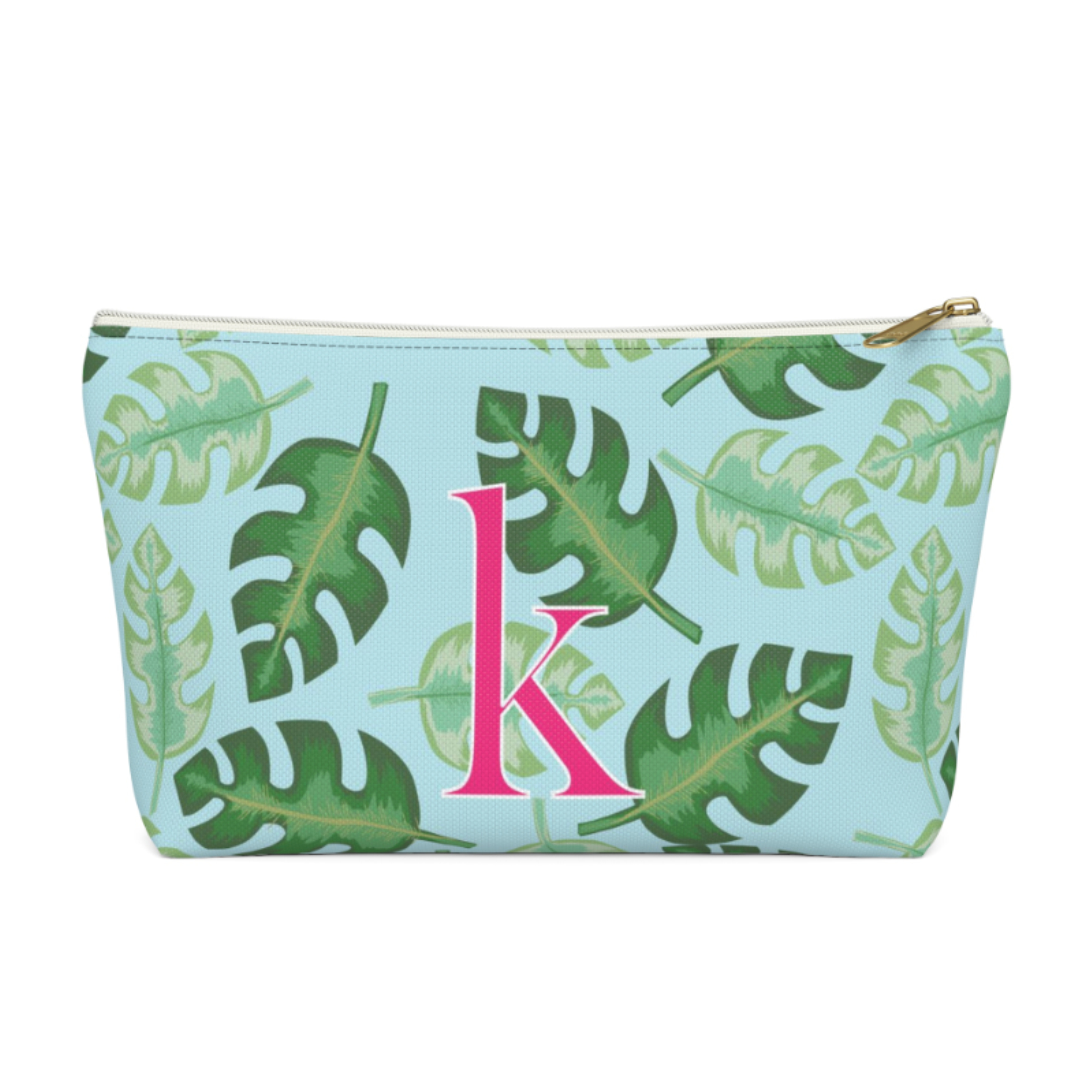 Tropical Zip Pouch (More options available)