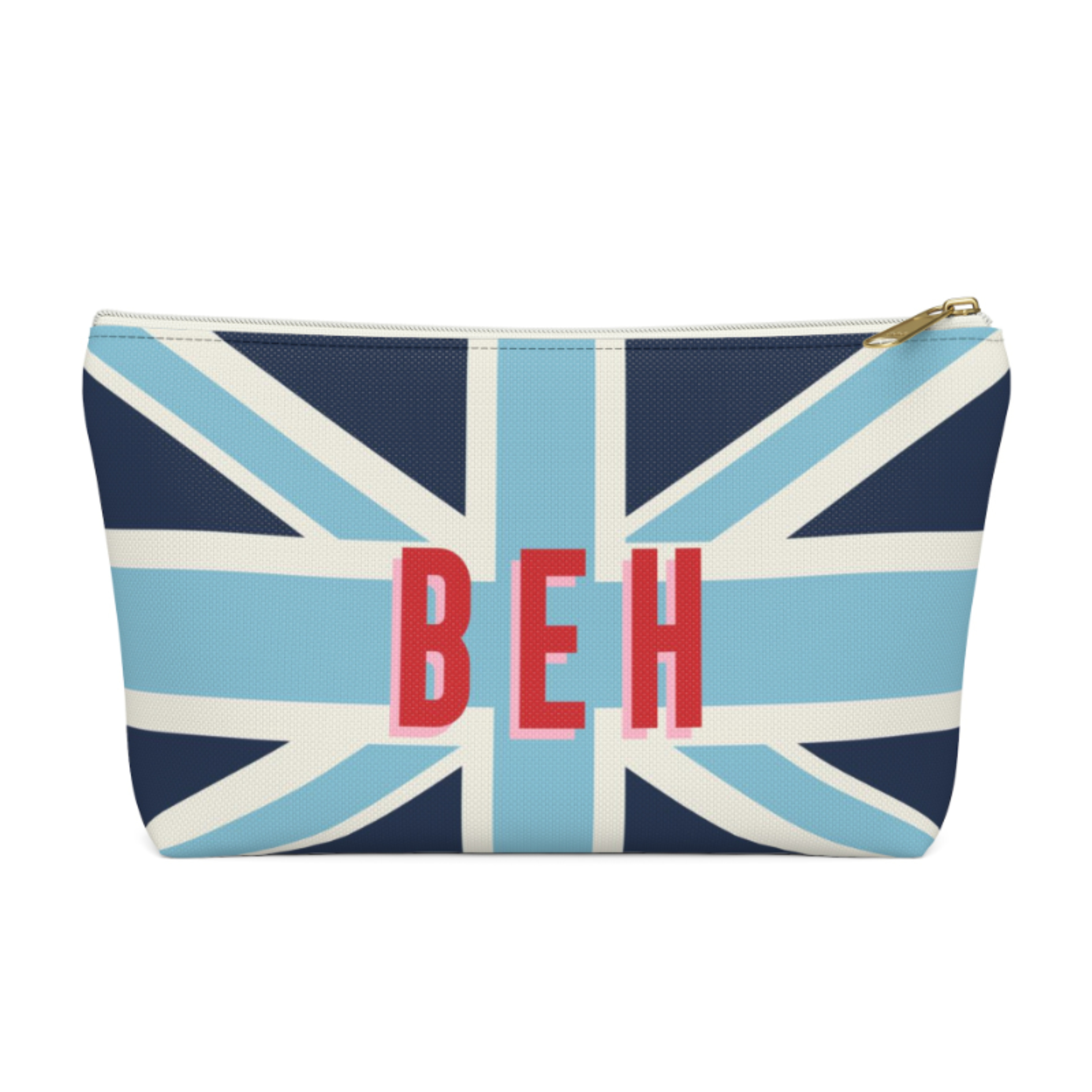 Union Jack Zip Pouch (More options available)