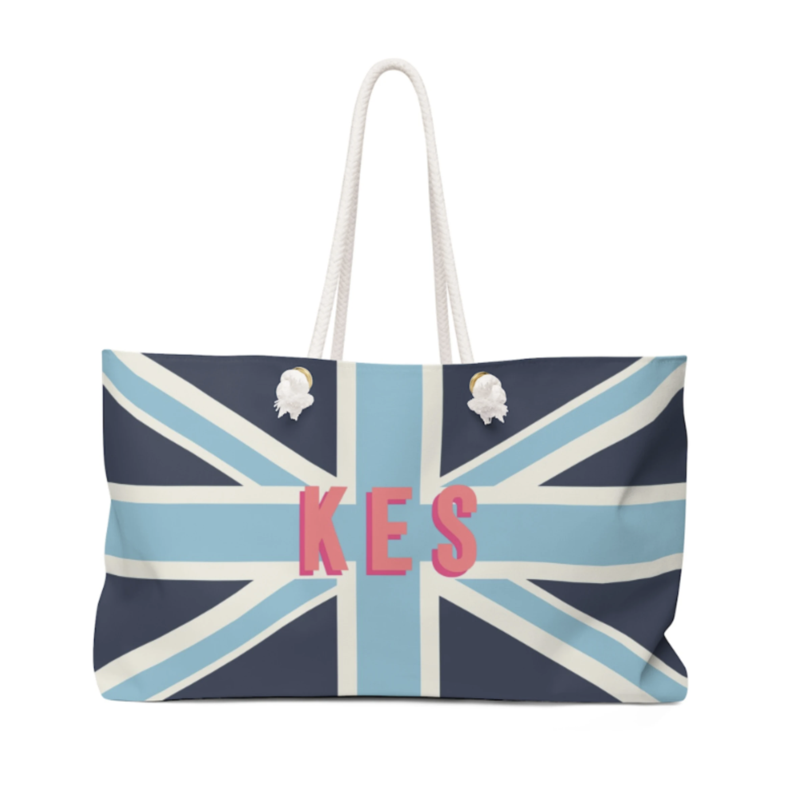 Union Jack Travel Tote (More colors available!)