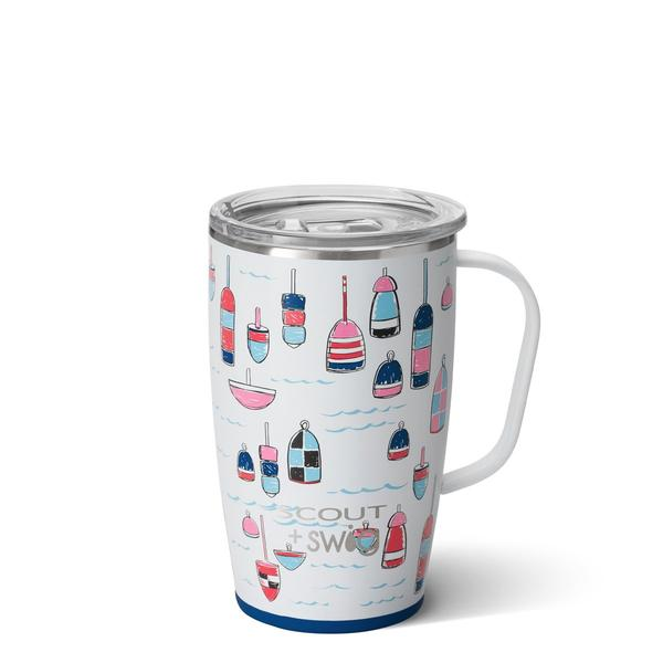 Monogrammed SCOUT + Swig Travel Mug (More Patterns Available!)
