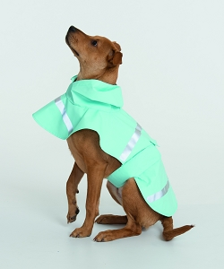 Monogrammed Raincoat for Dogs - 5 Colors Available
