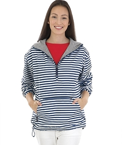 Chatham Anorak - Navy Stripe