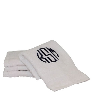 Luxury Cotton Face Towels (Set of 4) White
