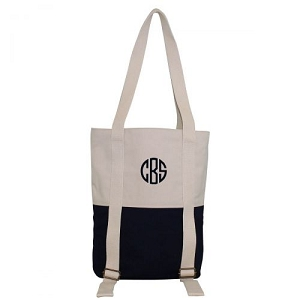 Yoga Mat Tote Bag - Navy