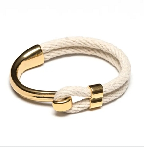 Hampstead Bracelet (Gold/Ivory)