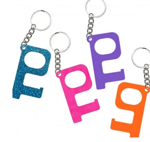 Hands Free Acrylic Keychain - More Colors Available