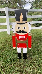 Nutcracker Yard Stake