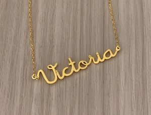 Personalized Name Necklace Font 51