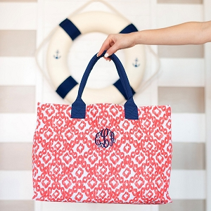 Monogrammed Tote - Catalina