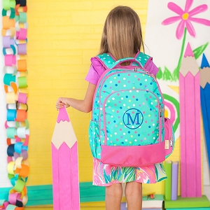 Monogrammed Backpack - Lottie