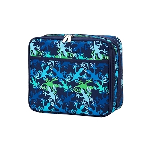 Monogrammed Lunch Box - Gecko